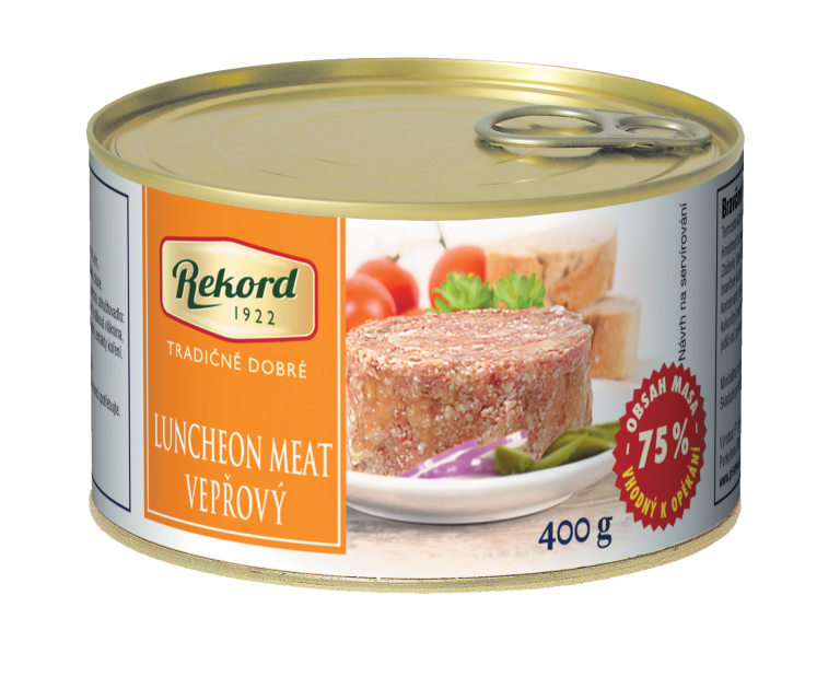 Luncheonmeat Vepřový400g | PT Servis