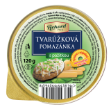 Spread from real Olomouc cottage cheese with chives 120g