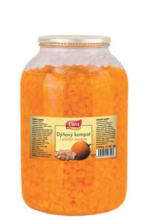 Dýňový Kompot S Přích. Ananasu 3500g | PT Servis