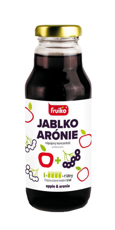 Fruiko Jablko Arónie 300ml | PT Servis