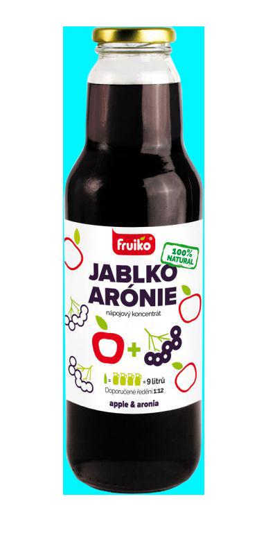 Fruiko Jablko Arónie 750ml | PT Servis
