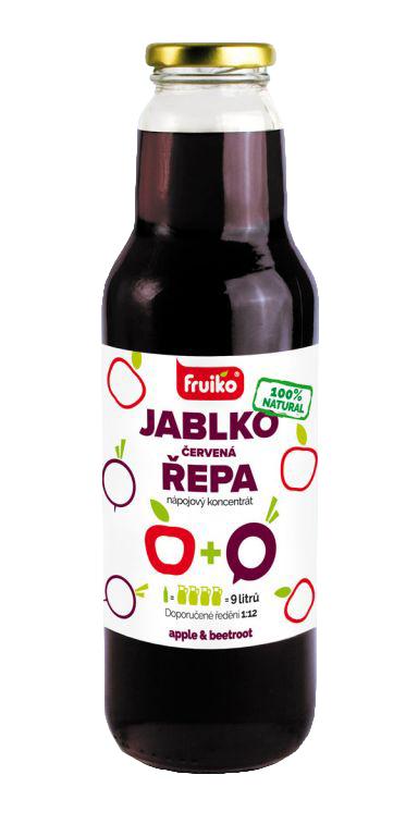 Fruiko Jablko Řepa 750ml | PT Servis