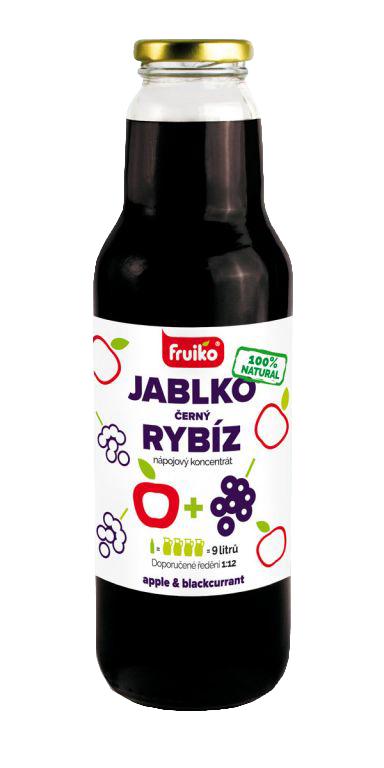 Fruiko Jablko Rybíz 750ml   PT Servis