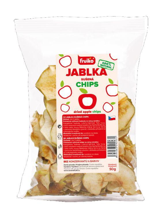 Fruiko Jablko Sušená Chips | PT Servis