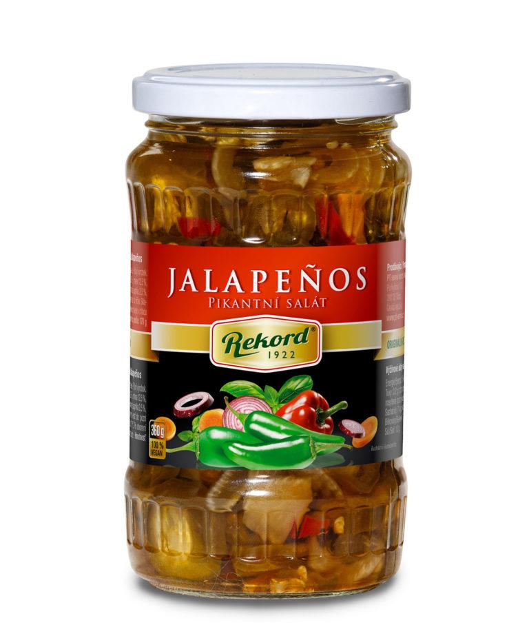 Jalapenos Pikantni Salat 360g Web | PT Servis