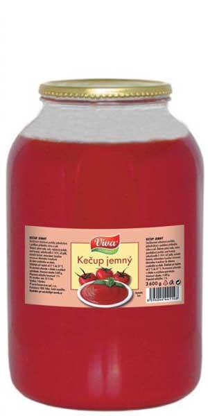 Kečup Jemný 3600g | PT Servis