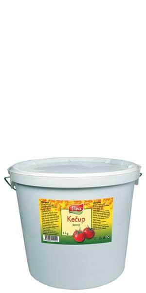 Kečup Jemný 5kg | PT Servis