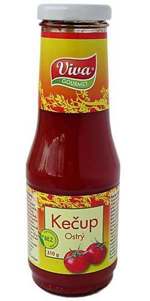 Kečup Ostrý 310g | PT Servis