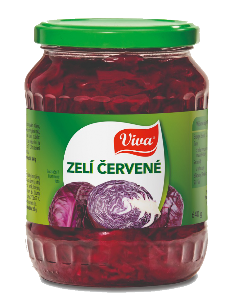 Viva Zeli Cervene 640g Cmyk | PT Servis