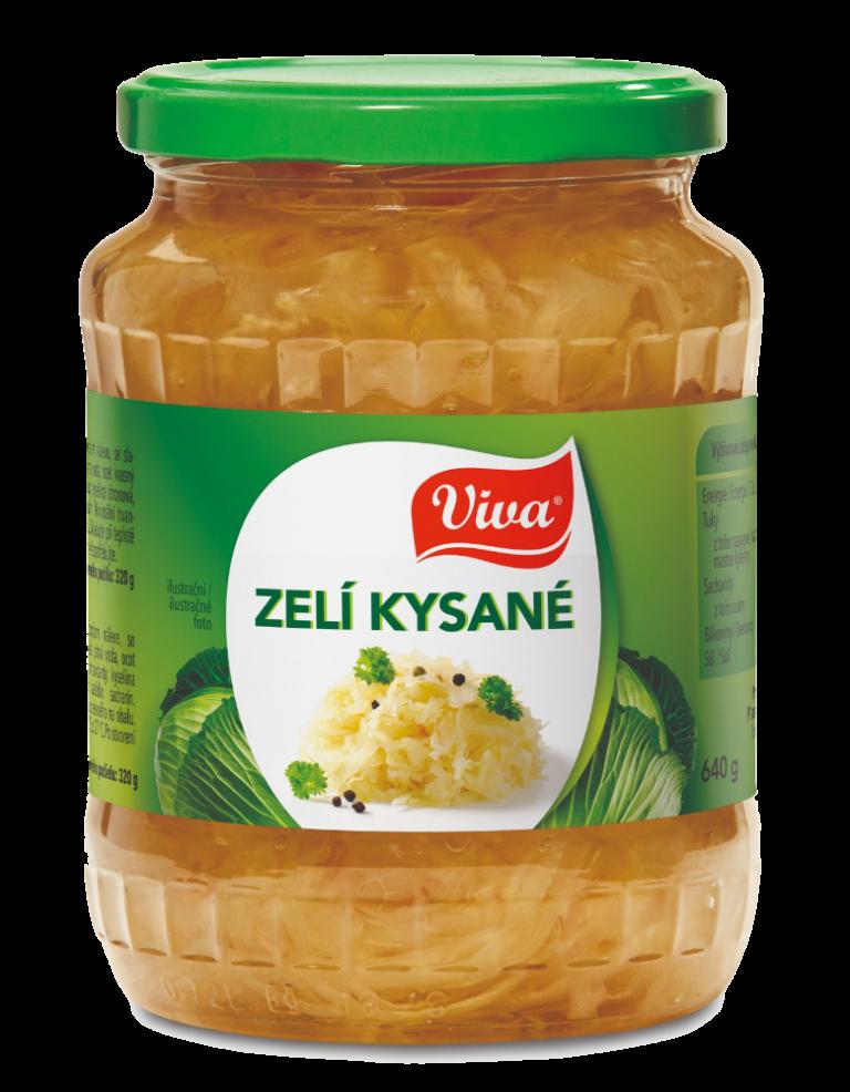 Viva Zeli Kysane 640g Cmyk | PT Servis