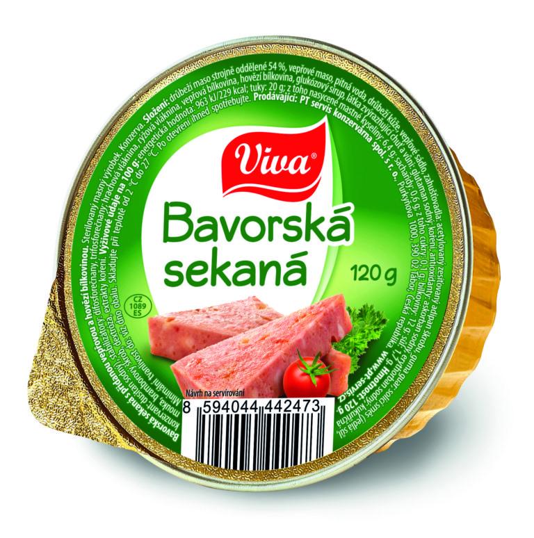 Viva Bavorska Sekana 120g Cmyk | PT Servis
