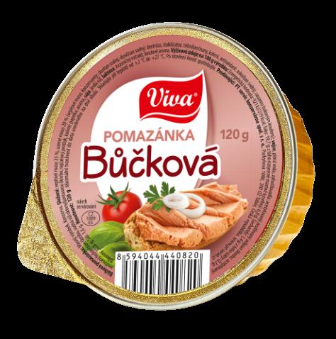 Viva Buckova Pomazanka 120g Web | PT Servis