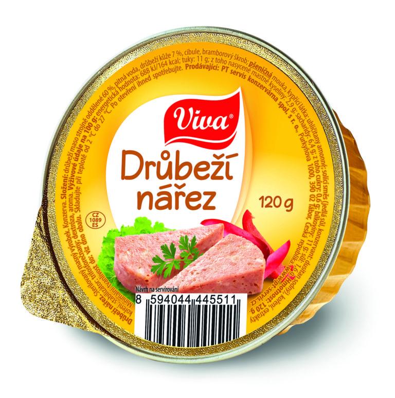 Viva Drubezi Narez 120g Cmyk | PT Servis