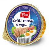 Krůtí maso s vejci 120g