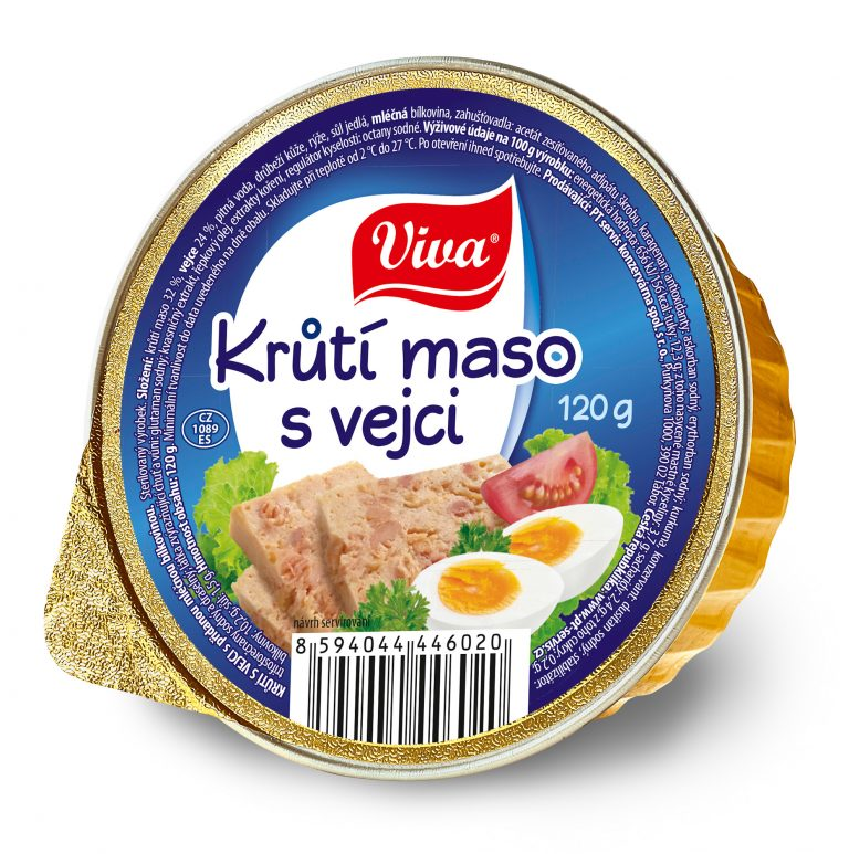 Viva Kruti Maso S Vejci 120g Web | PT Servis