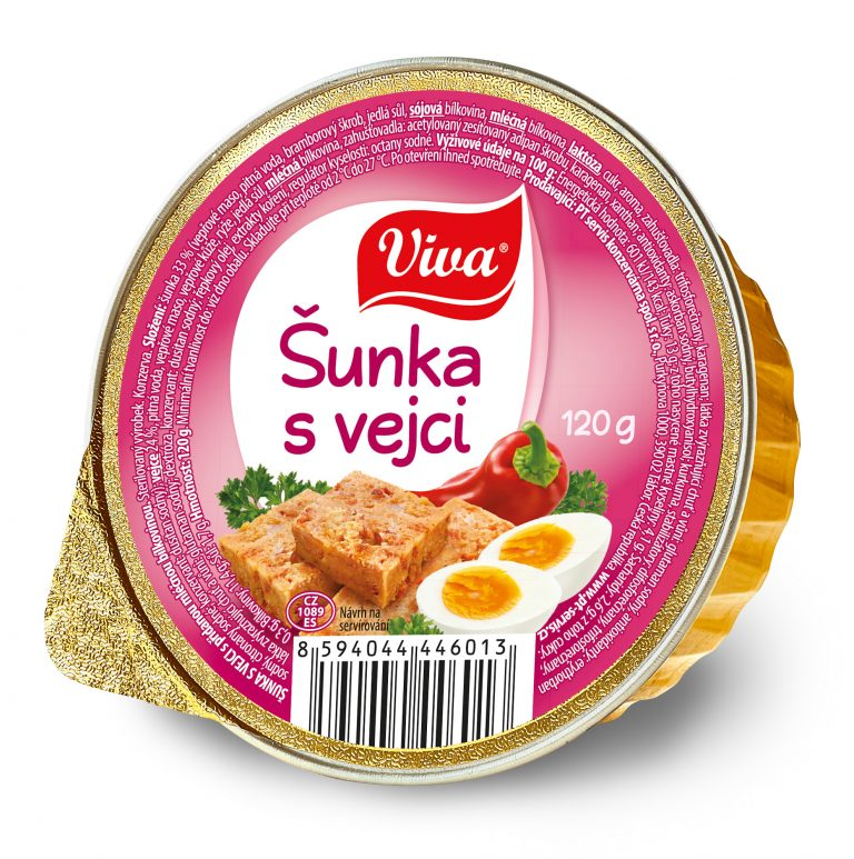 Viva Sunka S Vejci 120g Web | PT Servis