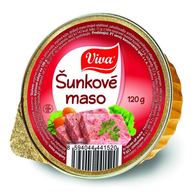 Viva Sunkove Maso 120g Cmyk | PT Servis