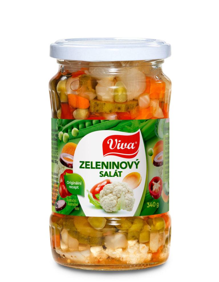 Viva Zel Salat Pikantni 330g Web | PT Servis