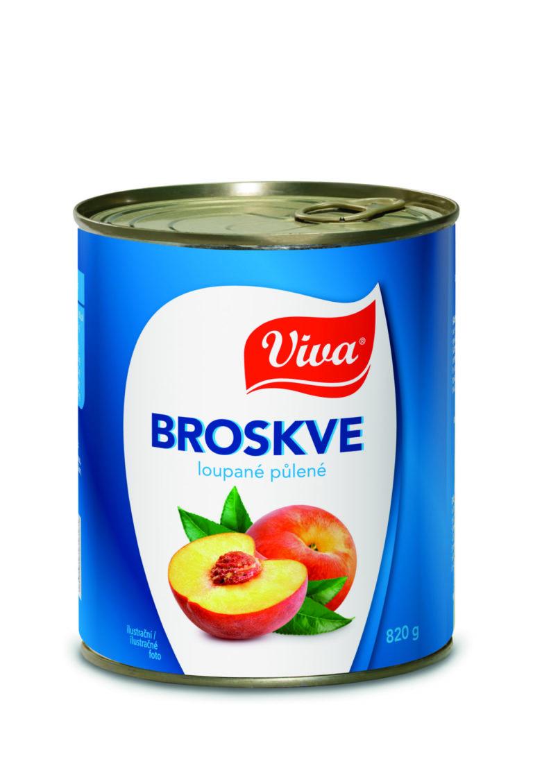 Viva Broskve 820g Cmyk   PT Servis