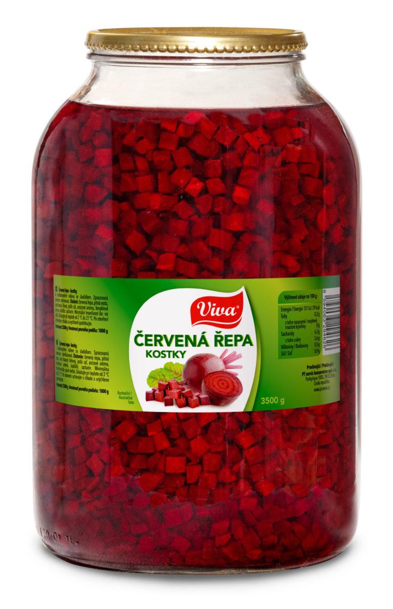 Viva Cervena Repa Kostky 3500g Web | PT Servis