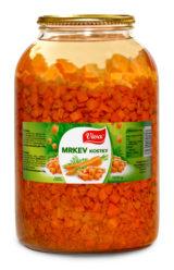 Carrot cubes 3 500g