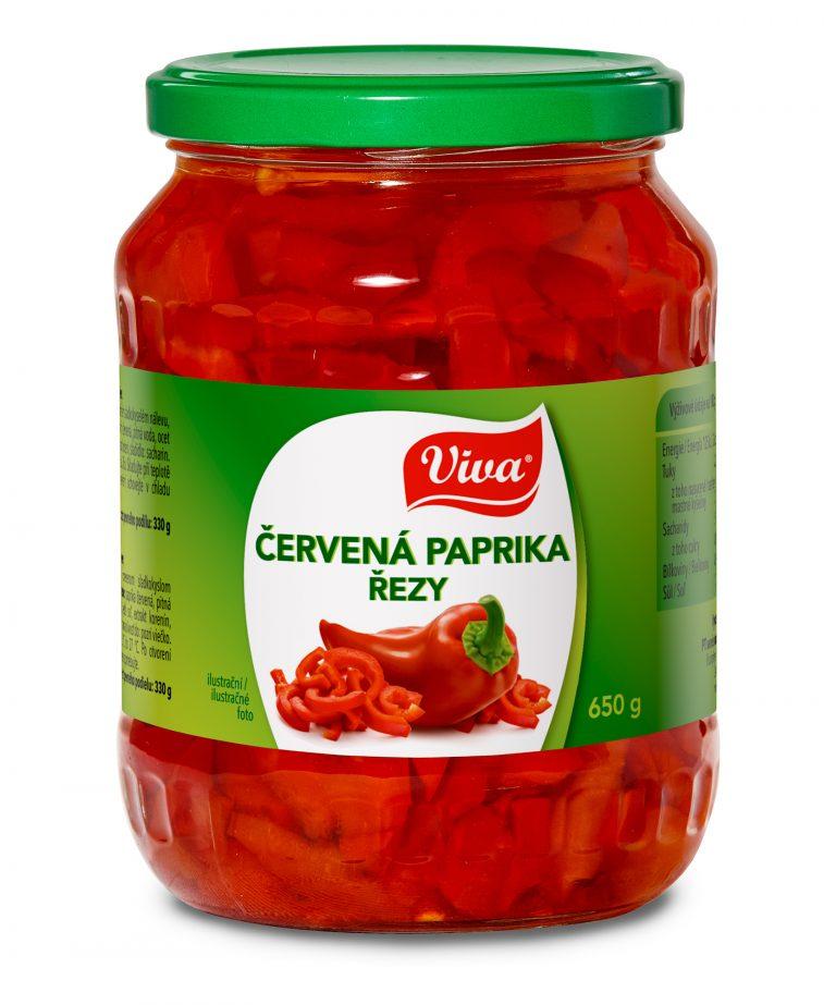 Viva Paprika Cerven† Rezy 650g Web | PT Servis