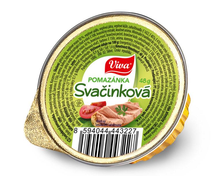 Viva Pomazanka Svacinova 48g Web   PT Servis