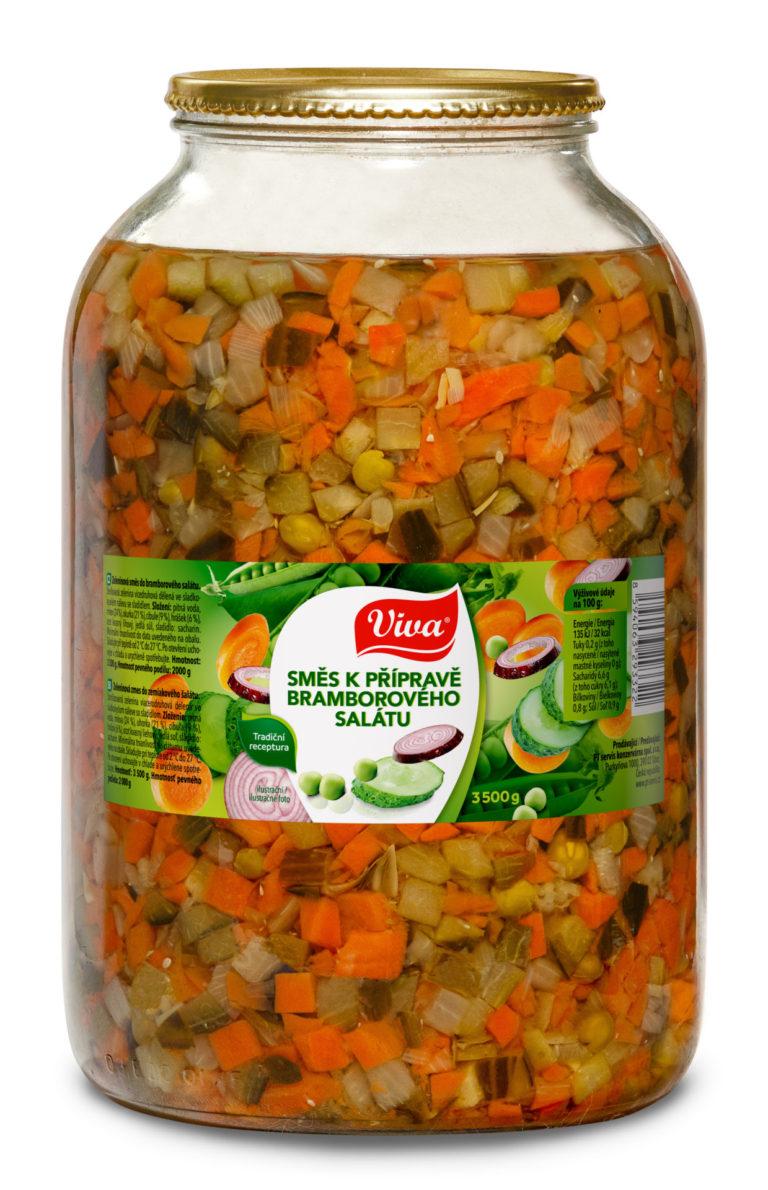 Viva Smes Na Bramborvy Salat 3500g Web | PT Servis