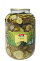 Cucumber slices 3 400g