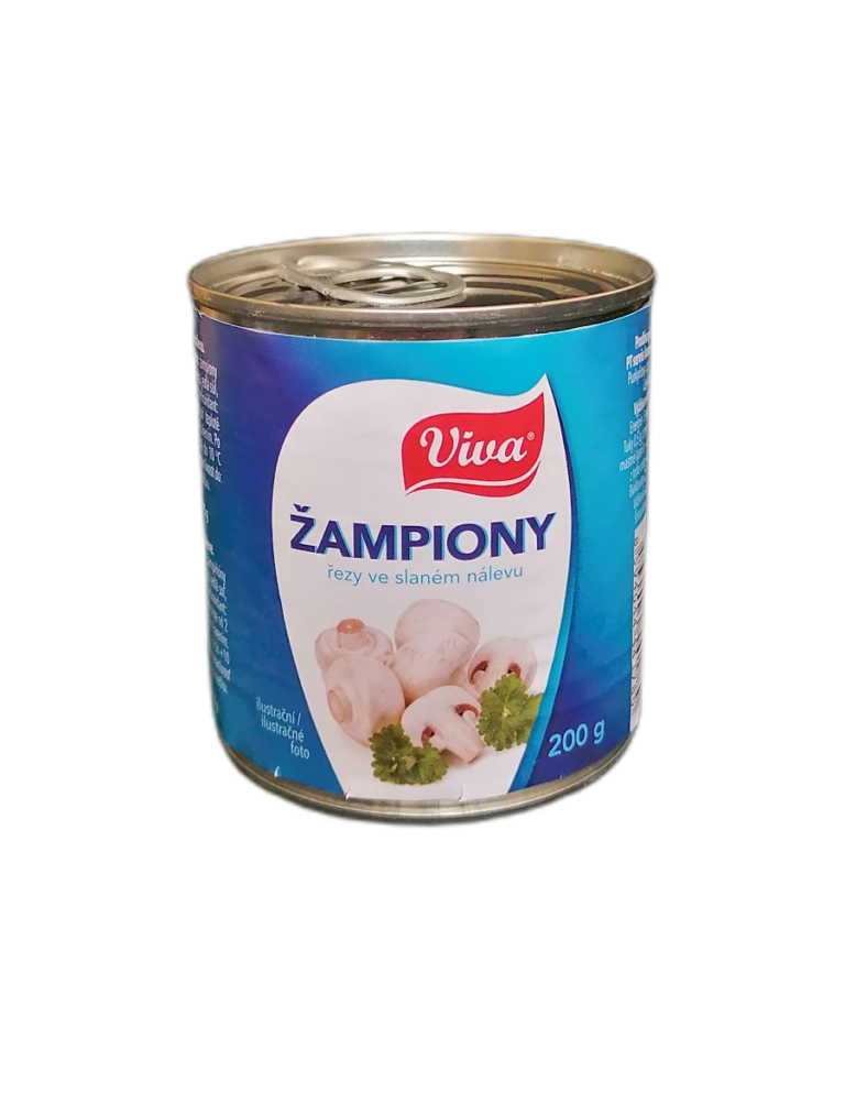 žampiony 200g Plech | PT Servis
