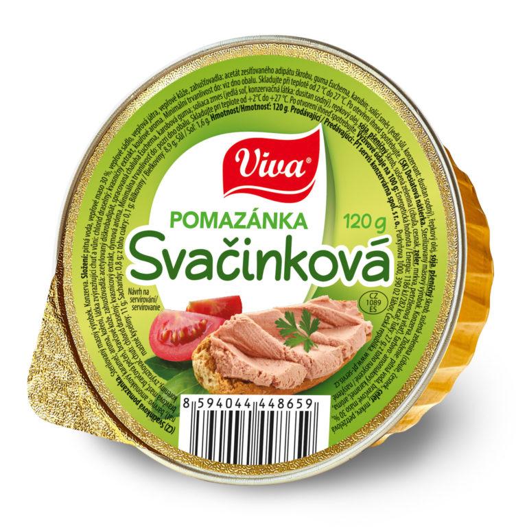 Pomazanka Svacinkova 120g Web | PT Servis
