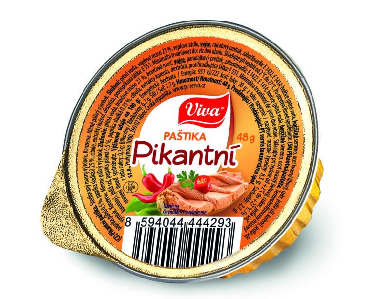 Viva Pastika Pikantni 48g Cmyk | PT Servis